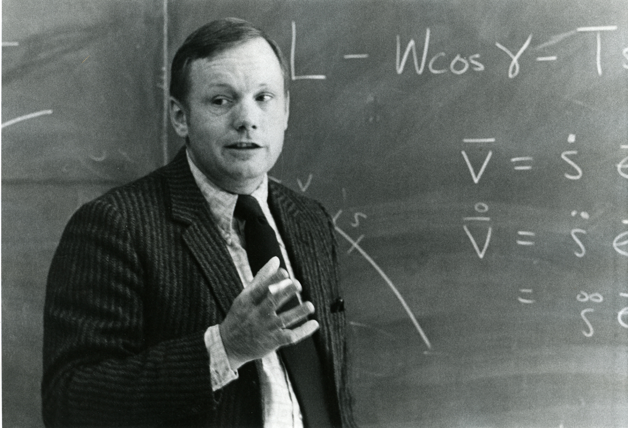 neil armstrong as a professor - photo #1